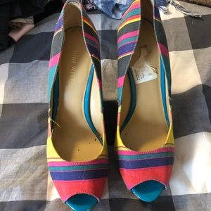 Nine West Colorful Wedges